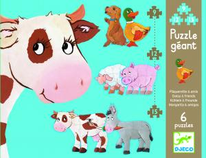 Djeco puzzle Daisy & Friends